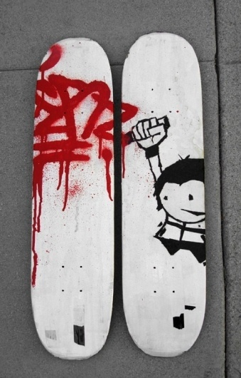 eyeone | seeking heaven #graphics #graffiti #design #skateboard #character