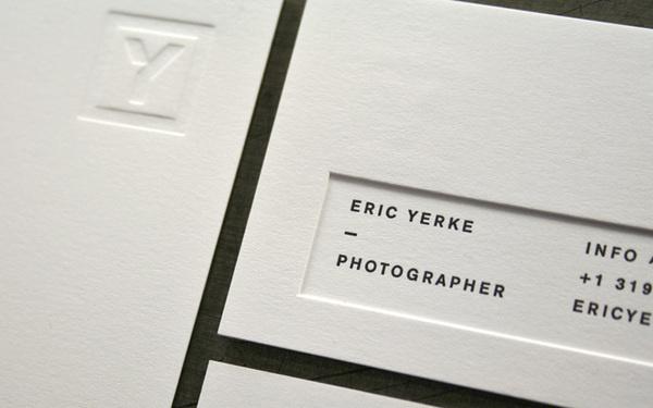 Letterpress- printing technique // Lead Image #card #letterpress #business