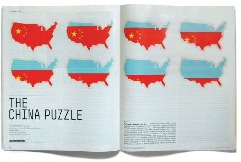 Bob Dinetz Design #times #illustration #china #york #editorial #magazine #new