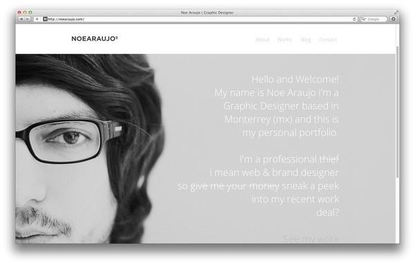 New personal site #profile #css #shtml #photo #portfolio #design #black #photography #minimal #web