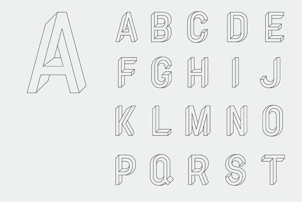 Utopia Utopie Typeface #r&m #co #alphabet #type #typography