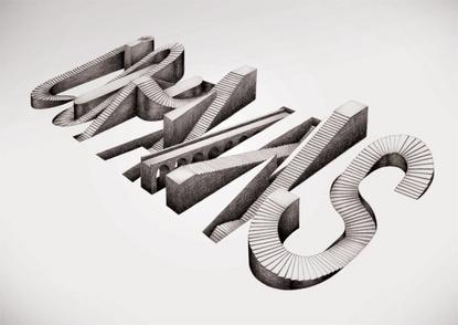 Baubauhaus. #stairs #building #3d #typography