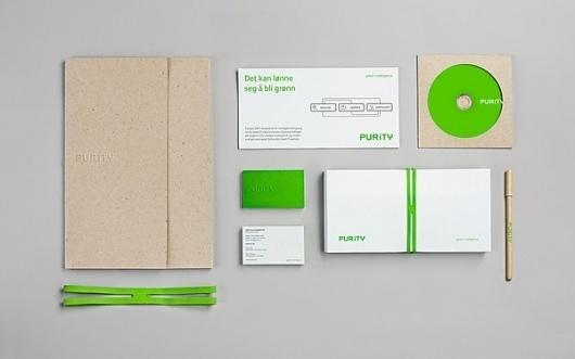 Purity on the Behance Network #business #branding #card #envelope #stationartu #logo