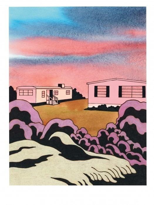pricebullington: Ken Price #landscape