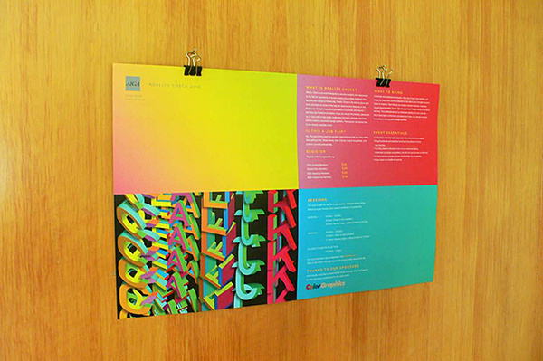 AIGA poster Varsity Crime Wave #color #poster #layout #mailer #typography