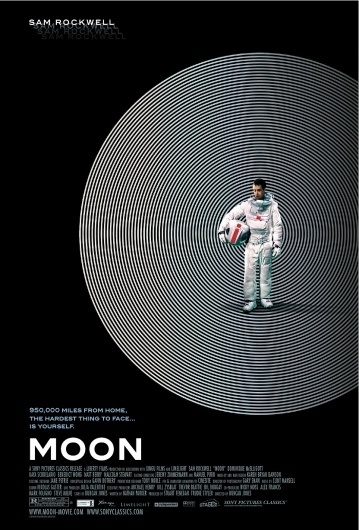 MOON #moon #minimal #poster #film