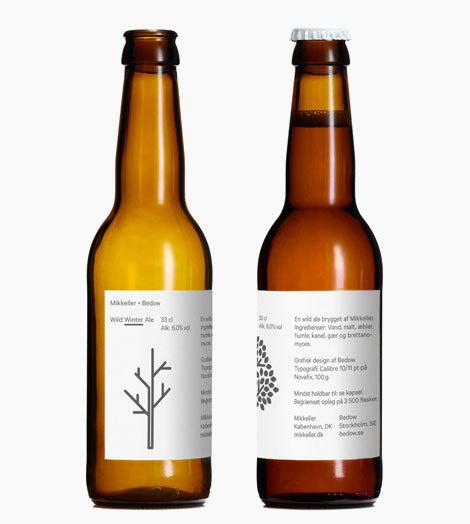 Mikkeller Wild Winter Ale #packaging #beer #label #bottle