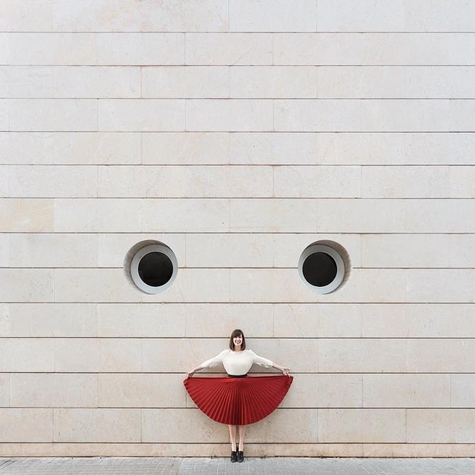 Daniel Rueda, Anna Devís Play With Architecture Across the World   Hi-Fructose Magazine