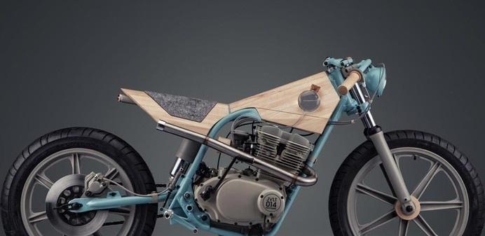 Motorbike Furniture by Italian designer Joe Velluto #velluto #furniture #2014 #designweek #joe #milan #motorcycle