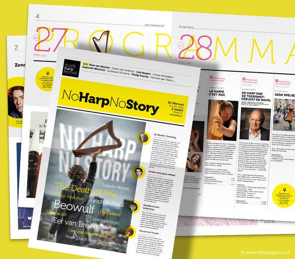 Dutch Harp Festival 2014 (design: www.theadagency.nl) #agency #design #graphic #the #ad
