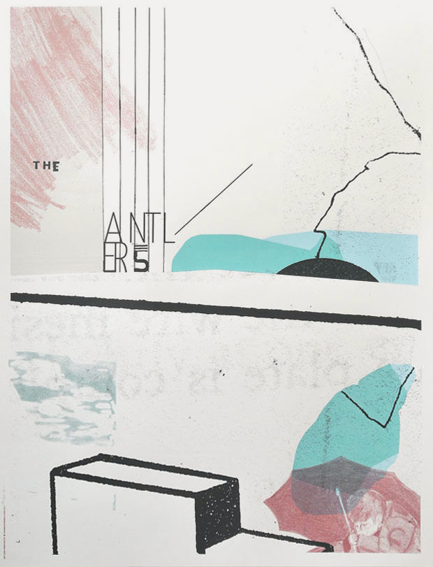 2011.p.antlers #abstract #poster