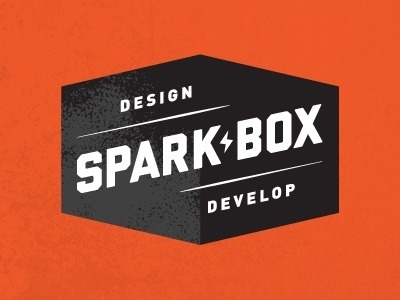 Dribbble - Sparkbox Identity by Ryan Clark