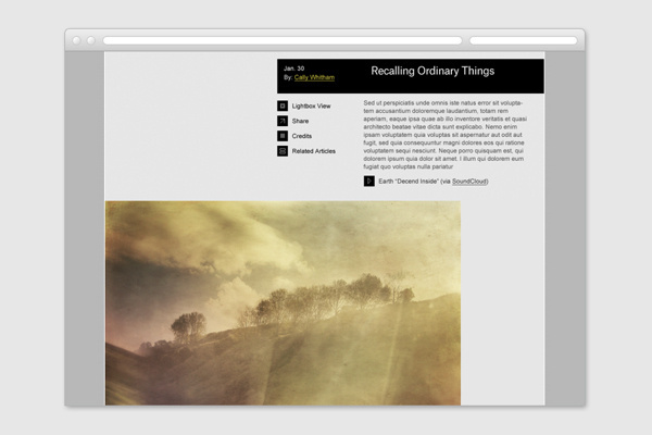 Foragepress.com #website #layout #ui