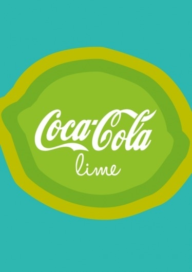 http://larajane1.tumblr.com/post/2939711509/my-lime-final #lara #van #coca #jane #illustration #lime #antwerpen #colour #cola