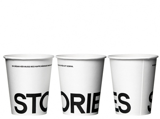 BVD #print #typographic #typeface #cup #style #typography