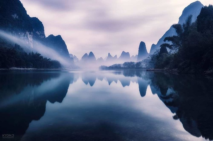 Breathtaking Landscapes of Guilin, China by Kyon.J