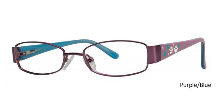 Purple/Blue Eyeglasses Vivid Boutique Petite 6007.
