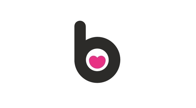 Biutik #heart #logo #lips #female