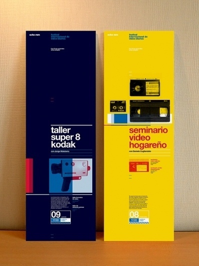 ocho mm on the Behance Network #8 #super #print #kodak #grid