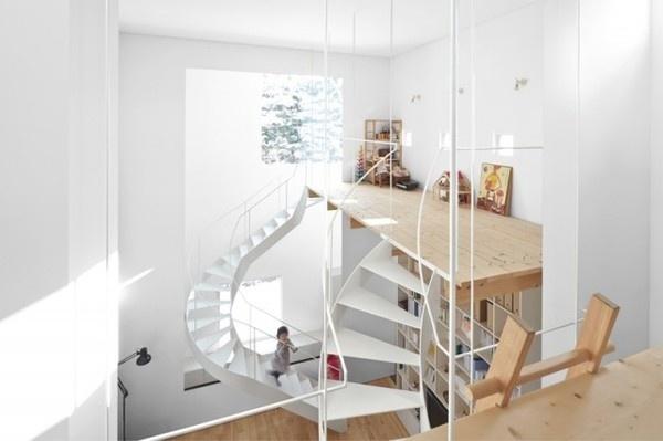 Case House Architecture – Fubiz™ #interior #design #decor #architecture #deco #stairs #decoration