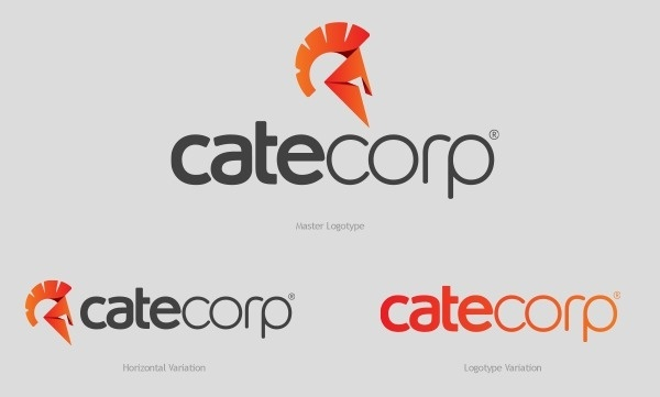 Cate Corp – Logotype & Stationery Design #logo #brand #design #identity