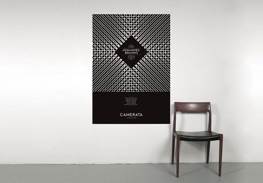 Camerata Lausanne (New) : DEMIAN CONRAD DESIGN #chair #print #identity