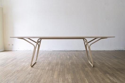 vita / r75 : FLORIAN SAUL #interior #lines #design #tabel #wood #architecture #fluid