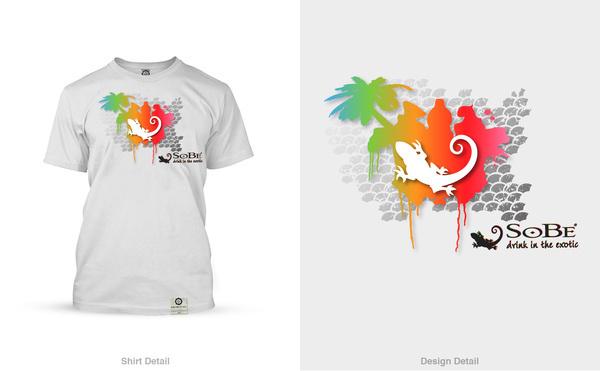 Tropical Graffiti #tropical #graffiti #graphic #tshirt #sobe #lizard