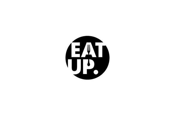 Mash Creative #creative #circle #white #eat #black #food #brand #identity #and #logo #mash #fork