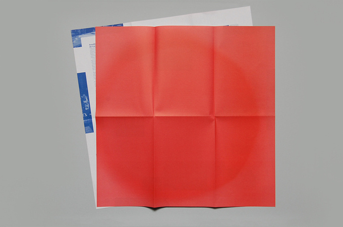 Lisbon Faculty of Fine-Arts Presentation, v-a studio #fold #graphic #paper