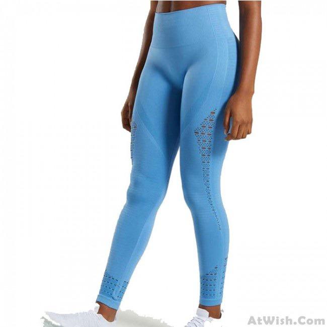 Leisure Hollow High Waist Tight-Fitting Hip-lifting Seamless Yoga Pants Women's Leggings