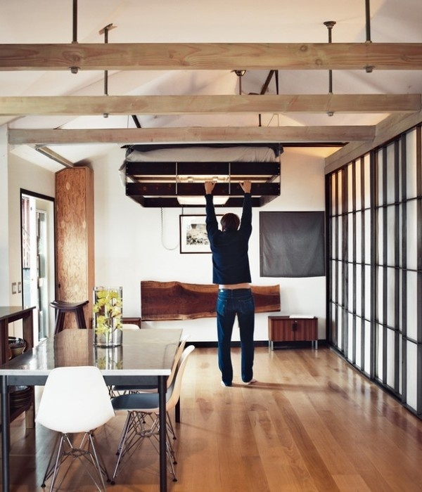 Adjustable Bed Compact House – Fubiz™ #interior #design #decor #deco #decoration
