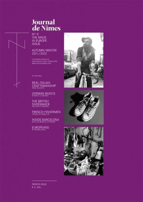 Journal Nº8.jpg #print #typography #fashion #brochure #magazine