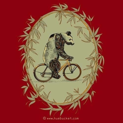 HUEBUCKET #bicycle #panda #bamboo #bike