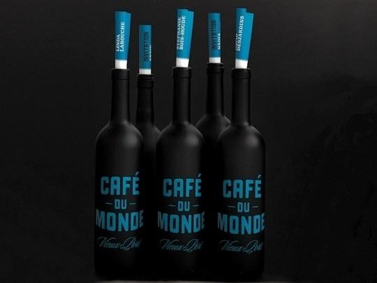 Café Du Monde   The Design Ark #caf #packaging #bottle #monde #du