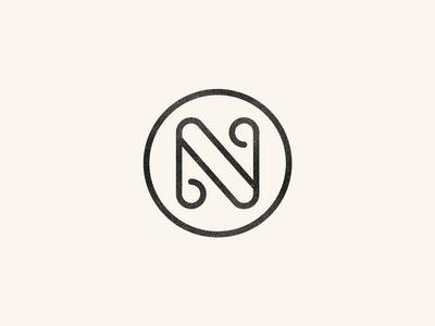 N monogram #logo #lettering