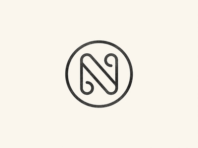 N monogram #monogram #logo