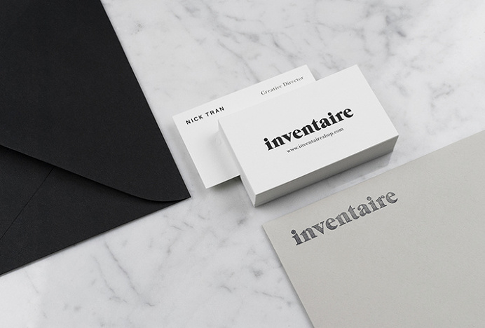 Inventaire Shop by 26 Lettres #graphic design #print #stationary