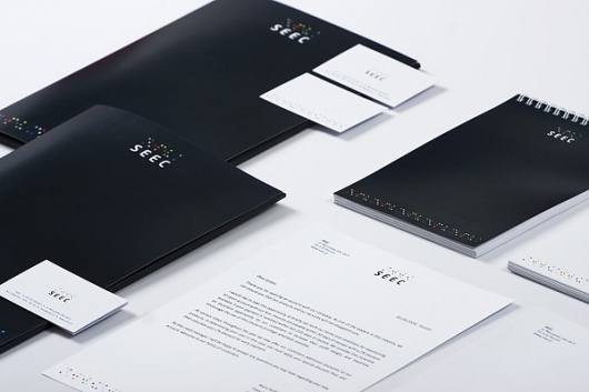 onestepcreative » Branding Development for Seec #visual #branding #system #identity #seec