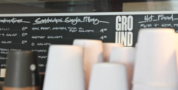 Ground #white #shop #menu #board #black #simple #cafe #chalkboard #coffee