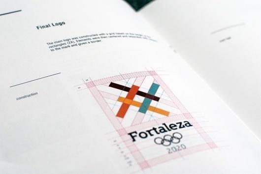 Fortaleza 2020 spreads : Guilherme #construction #grid #fortaleza #logo #olympics