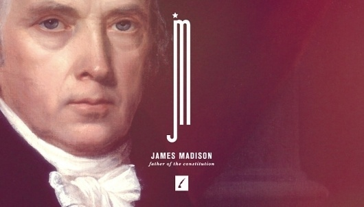 http://brandingtheuspresidents.tumblr.com/ #states #design #american #president #james #united #america #madison #typography