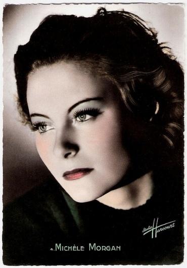 Michèle Morgan | Flickr - Photo Sharing! #movie #star