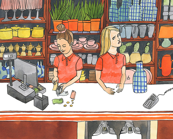 Jij & Wij Magazine - Bodil Jane #illustration
