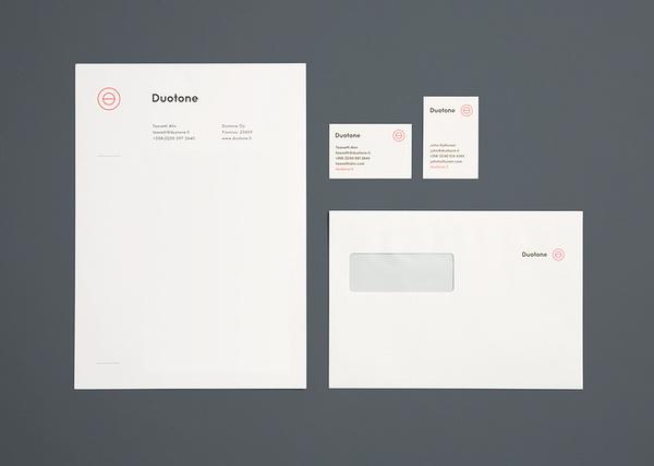 Duotone by Tsto #minimalism #branding #stationery