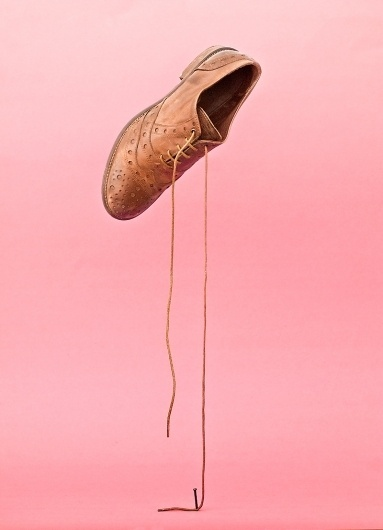 All sizes | Das gebaute Bild | Flickr - Photo Sharing! #pink #shoe #photography #minimal #nail