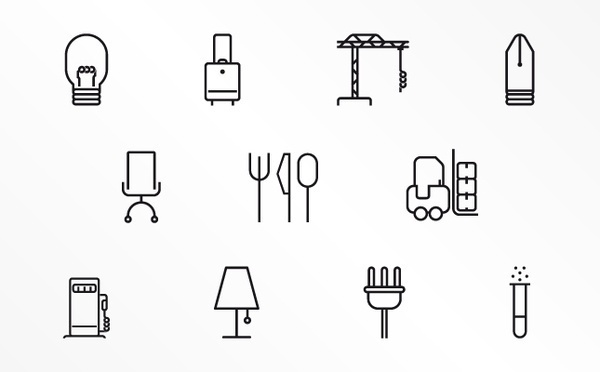 Icon selection by www.o-zone.it , via Behance. #iconography #icon #sign #icons #symbols #signs