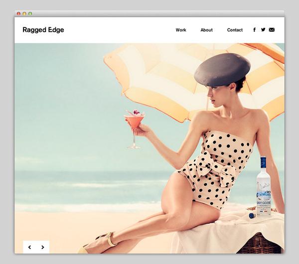 Ragged Edge #website #layout #design #web