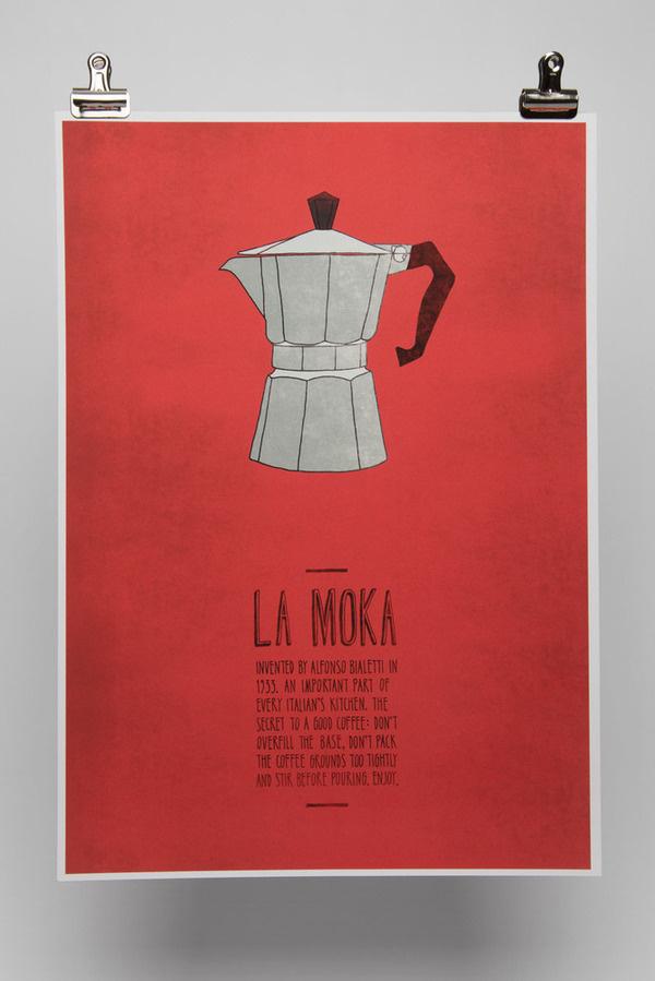 Image of La Moka #poster #typography