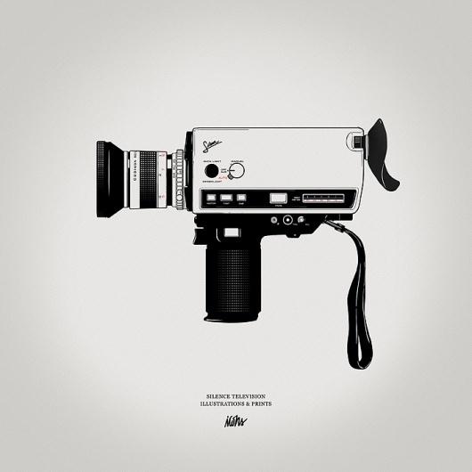 st9.jpg (JPEG Image, 700x700 pixels) #camera #illustration #super8 #film